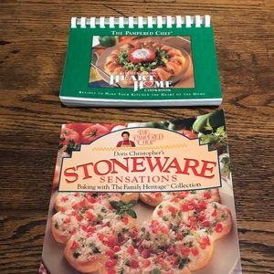 Pampered Chef & Stoneware Cookbooks